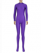 Unisex Pure Color Lycra Zentai Suit Bodysuit without Hood Cosplay Costume