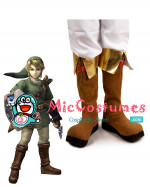 The Legend of Zelda Link Cosplay Schuhe