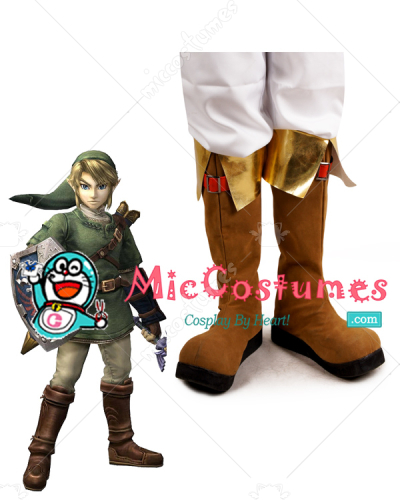 The Legend of Zelda Link Cosplay Shoes