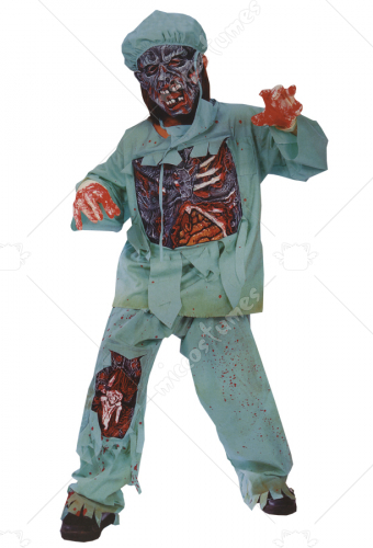 Zombie Doctor Child Costume