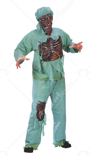 Zombie Doctor Plus Size Adult Costume