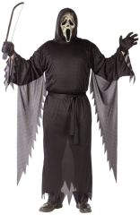 Zombie Ghost Face Plus Size Adult Costume