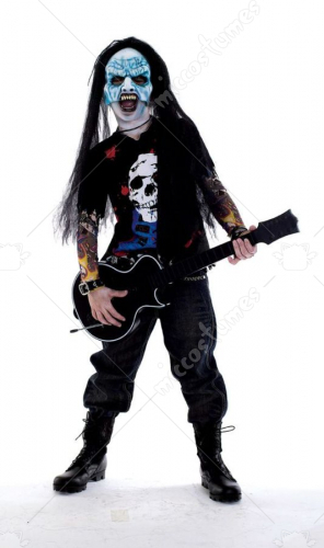Zombie Icons Zomb Rocker Costume