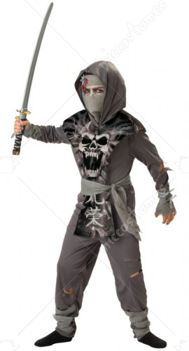 Zombie Ninja Children Costume