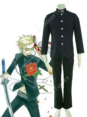 Zone 00 Men Uniform Cosplay Costume