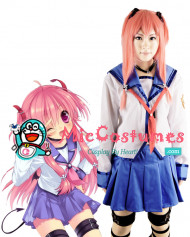 Angel Beats Yui Cosplay Wig