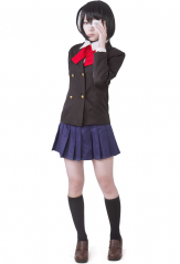 Another Mei Misaki Cosplay Costume Winter School Uniform