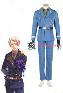 Axis Powers Hetalia Prussia Cosplay Costume