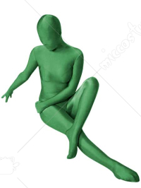 Apple Green Lycra Spandex Zentai Suit