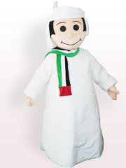 Arab Plush Adult Mascot Costume