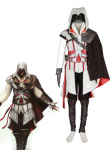 Assassin Creed II Ezio Auditore da Firenze Cosplay Costume