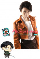Attack on Titan Levi Rivaille Cosplay Wig