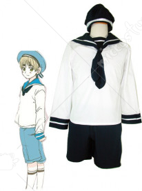 Axis Powers Hetalia Sealand Cosplay Costume