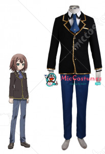 Baka to Test to Shoukanjuu Men Winter Uniform Cosplay Costume