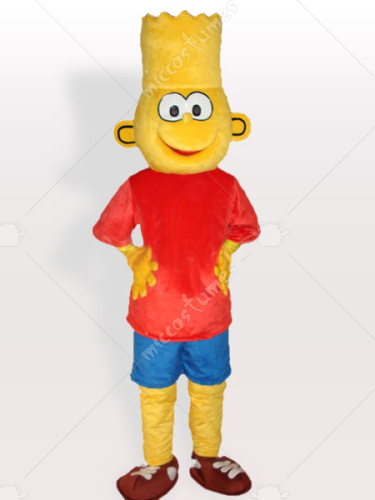 Bart Simpson Adult Mascot Costume