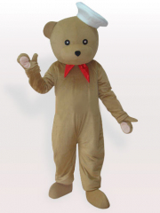Bear Chef Adult Mascot Costume