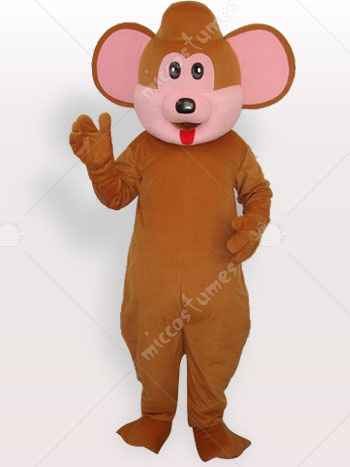 Bear Short Plush Adult Mascot Costume