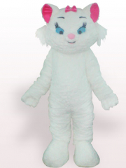 Beautiful Cat Short Plush Adult Mascot Costume