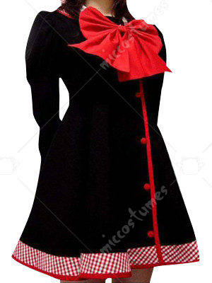 Black And Red School Uniform