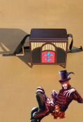 Black Butler Drocell Caines Music Box