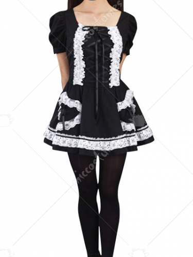 Black Cosplay Costume