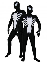 Black Lycra Spandex Spiderman Zentai Costume