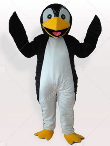 Black Penguin Adult Mascot Costume