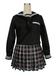 Black Japanese School Uniform