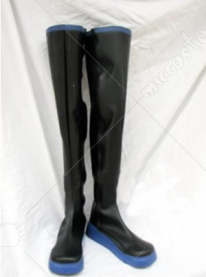 Black Vocaloid Hatsune Miku High Cosplay Shoes Boots