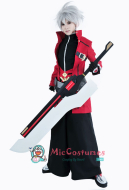 Blazblue Ragna The Bloodedge Cosplay Weapon Blood-Scythe