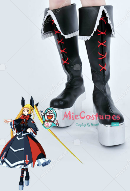Blazblue Rachel Alucard Cosplay Shoes