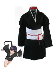 Bleach 12th Division Lieutenant Kurotsuchi Nemu Cosplay Costume