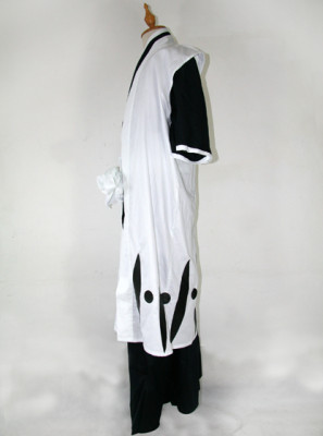 Bleach 3rd Division Captain Ichimaru Gin Cosplay Costume