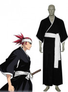Bleach 6th Division Lieutenant Renji Abarai Cosplay Costume