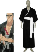 Bleach 7th Division Lieutenant Tetsuzaemon Iba Cosplay Costume