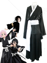Bleach Female Shinigami Cosplay Costume