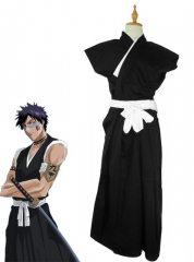 Bleach Shuhei Hisagi Mens Cosplay Costume