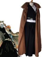 Bleach Ichigo Kurosaki Mens Execution Ground Cosplay Costume
