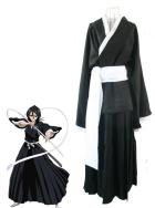 Bleach Rukia Kuchiki Soul Reaper Cosplay Costume