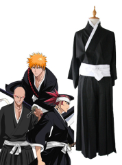 Bleach Male Shinigami Cosplay Costume