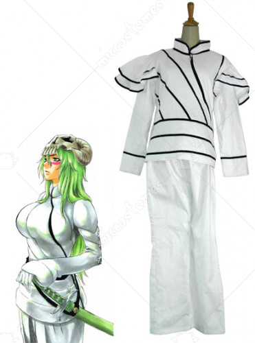 Bleach Nelliel Tu Espada Uniform Cosplay Costume