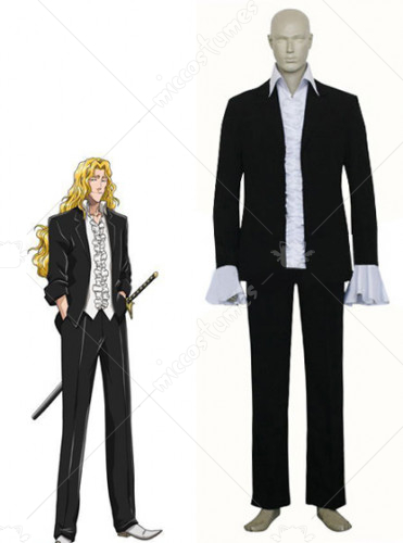 Bleach Otoribashi Rojuro Rose Cosplay Costume