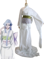 Bleach Zanpakuto Sode no Shirayuki Cosplay Costume Women M