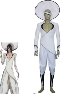 Bleach The Quinta Espada Nnoitra Jiruga Cosplay Costume