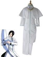 Bleach Uryuu Ishida Mens Cosplay Costume