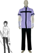 Bleach Uryuu Ishida Quincy Uniform Cosplay Costume