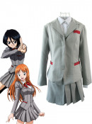 Bleach Women Spring School Uniform Cosplay Costume