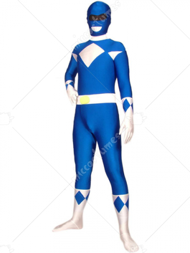Blue Galaxy Fight Spandex Zentai Suit