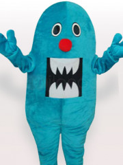 Blue Shark Adult Mascot Costume
