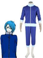 Blue Vocaloid Matryoshka Kaito Cosplay Costume